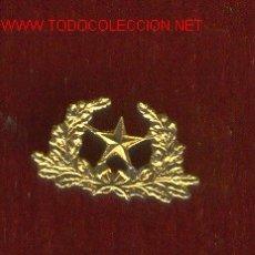 Militaria: PAR INSIGNIA ESTADO MAYOR MINIATURA EPOCA ALFONSO XIII. Lote 57727257