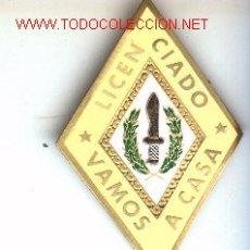 Militaria: ROMBO DE LICENCIADO COES.. Lote 197309250
