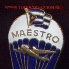 Militaria: CUBA PARACAIDISTA.MAESTRO. . Lote 44051859