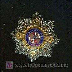 Militaria: PIN DE SOLAPA DE PLATA Y ORO AL MERITO EN CAMPAÑA. Lote 25901741