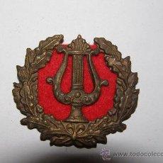 Militaria: GUERRA CIVIL ESPAÑOLA, INSIGNIA DE MÚSICO MILITAR.. Lote 12555042