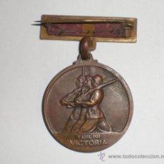Militaria: INSIGNIA.18-JULIO-1936.1-ABRIL-1939 VICTORIA. Lote 27407016