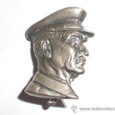 Militaria: INSIGNIA DE QUEIPO DE LLANO PARA COLOCAR EN EL PECHO. Lote 27244876