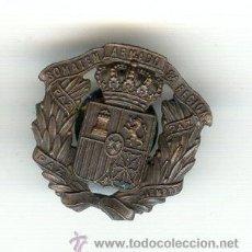 Militaria: INSIGNIA SOMATENES ARMADOS OCTAVA REGIÓN ÉPOCA DE ALFONSO XIII CASA CASTELLS BARCELONA. Lote 27437285