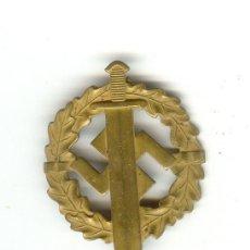 Militaria: ALEMANIA NAZI III REICH PLACA DE PECHO DISTINTIVO DEPORTES SA Nº211677. Lote 60918345