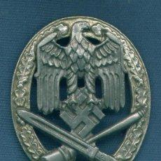 Militaria: ALEMANIA III REICH. PLACA DE ASALTO GENERAL .25 ASALTOS. MUY BUENA REPRODUCCIÓN DE LOS 70-80. Lote 12242418