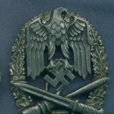 Militaria: ALEMANIA III REICH. PLACA DE ASALTO GENERAL. 50 ASALTOS. MUY BUENA REPRODUCCIÓN DE LOS 70-80. Lote 12242472