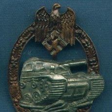 Militaria: ALEMANIA III REICH. PLACA DE CARROS DE COMBATE. 25 ASALTOS. MUY BUENA REPRODUCCIÓN DE LOS 70-80. Lote 12242515