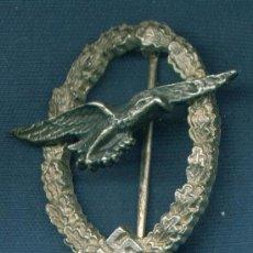 Militaria: ALEMANIA III REICH. PLACA DE PILOTO DE PLANEADORES LUFTWAFFE. MUY BUENA REPRODUCCIÓN DE LOS 70-80. Lote 12243435