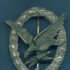 Militaria: ALEMANIA III REICH. PLACA RADIOOPERADORES, ARTILLEROS.LUFTWAFFE. MUY BUENA REPRODUCCIÓN DE LOS 70-80. Lote 12243466