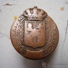 Militaria: EMBLEMA DEL SOMATEN ESPAÑOL , DE ALFONSO XIII.. Lote 27398280