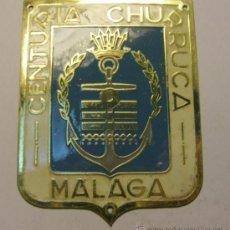 Militaria - Placa insignia de centuria de Falange, CENTURIA CHURRUCA, MALAGA. - 13678481