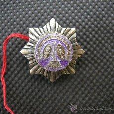 Militaria: FE PUBLICA Y JUDICIAL, INSIGNIA SOLAPA SECRETARIO JUDICIAL.. Lote 107866287