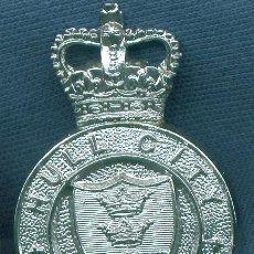 Militaria: REINO UNIDO. INSIGNIA DE GORRA DE POLICÍA. HULL CITY POLICE.. Lote 14139384