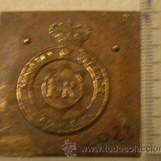 Militaria: CHAPA POR RECORTAR, POLICE, MINISTRY OF DEFENCE. Lote 14771334