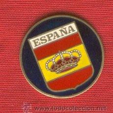Militaria: LOTE DE 20 CHAPAS DE CORONA REAL PARA LLAVERO INSERTO S/IMGEN. Lote 208281300
