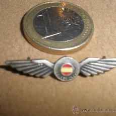 Militaria: PIN DE IBERIA ANTIGUO PLATEADO. Lote 235152630