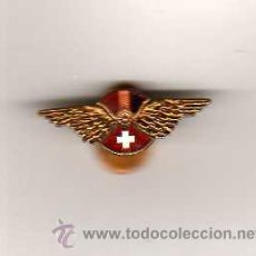 Militaria: INSIGNIA REPUBLICANA HISPANO SUIZA ( ESMALTADA ) EN EL REVERSO MOLAS, BARCELONA. Lote 26643049
