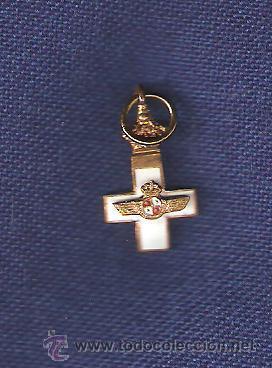CRUCECITA MTO.AERONAUTICO MUY ANTIGUA MINI DE 1.5 CMS. DE ALTO (Militar - Insignias Militares Extranjeras y Pins)