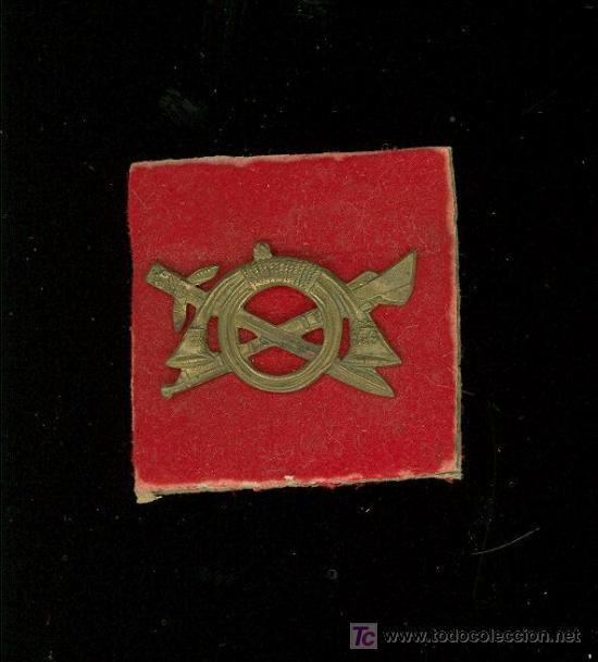 REGULARES. PIN DE GORRA DE JUAN IRRIBARREN JIMENEZ. (Militar - Insignias Militares Extranjeras y Pins)