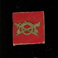 Militaria: REGULARES. PIN DE GORRA DE JUAN IRRIBARREN JIMENEZ.. Lote 25135171