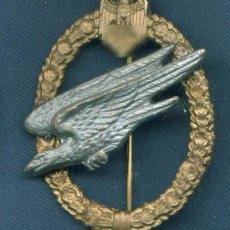 Militaria: ALEMANIA III REICH. PLACA DE PARACAIDISTAS DE LA WEHRMACHT. MUY BUENA REPRODUCCIÓN DE LOS 70-80. Lote 12244292