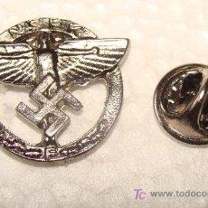Militaria: PIN MILITAR. ALEMANIA . III REICH. ÁGUILA ALEMANA Y ESVÁSTICA. PARTIDO NSDAP. 100% METAL. . Lote 54223722