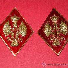 Militaria: PAREJA ROMBOS CIR(CENTRO DE INSTRUCCION DE RECLUTAS). Lote 187463192