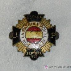 Militaria: OJAL PATRIOTICO. Lote 27130684