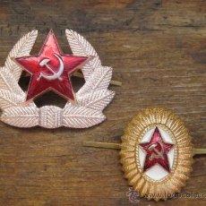 Militaria: INSIGNIAS RUSA,CCCP-URSS, EJERCITO ROJO, ANTIGUAS 100% ORIGINAL DE LA EPOCA. Lote 140933184