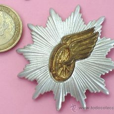 Militaria: INSIGNIA DE FERROCARRIL , SIN CLASIFICAR, ES METALICA , VER FOTOS, TREN, TRANSPORTE . Lote 24085235
