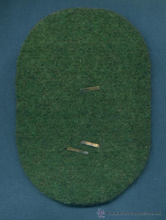 Militaria: ALEMANIA III REICH. Placa de brazo Demjansk. Muy buena reproducción de los años 70-80. - Foto 2 - 21919337