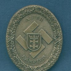 Militaria: ALEMANIA III REICH. PLACA DE HONOR DEL GAU DE DANZIG. MUY BUENA REPRODUCCIÓN. Lote 21919737