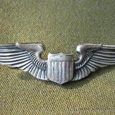 Militaria: EMBLEMA DE PILOTO AMERICANO - WWII - STERLING - U.S. AIR FORCE - AVIACION. Lote 22308641