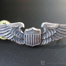 Militaria: EMBLEMA DE PILOTO DE AVIACION DEL EJERCITO AMERICANO - IIGM - N. S. MEYER, INC. NEW YORK - STERLING. Lote 22659659