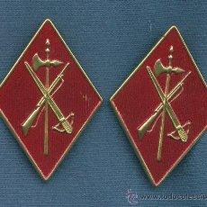 Militaria: PAREJA DE ROMBOS DE LA LEGIÓN. AÑOS 50-60. MODELO DE TROPA.. Lote 196915588