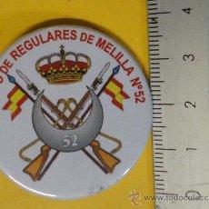 Militaria - Chapa de aguja de Regulares. - 25709589