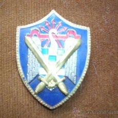 Militaria: INSIGNIA ESMALTADA MILICIAS UNIVERSITARIAS SEU (FALANGE). Lote 26503332
