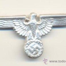 Militaria: B- ALEMANIA TERCER REICH ÁGUILA DE LAS SS PARA GORRA ALUMINIO A CLASIFICAR. Lote 28374047