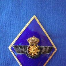Militaria: ROMBO INTENDENCIA EJERCITO DEL AIRE CON CORONA REAL. Lote 28443858