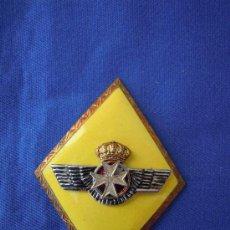 Militaria: ROMBO SANIDAD EJERCITO DEL AIRE CON CORONA REAL.. Lote 28443869