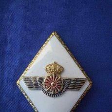 Militaria: ROMBO INTERVENCION EJERCITO DEL AIRE CON CORONA REAL.. Lote 28443876