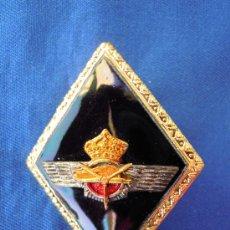 Militaria: ROMBO CUERPO DE INGENIEROS AERONÁUTICOS EJERCITO DEL AIRE CON CORONA REAL.. Lote 28443916