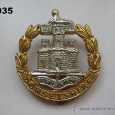 Militaria: REINO UNIDO : INSIGNIA BRITÁNICA ( INGLESA ) DEL RGTO. DORSETSHIRE. ENVÍO CERTIFICADO GRATUITO. Lote 28482830