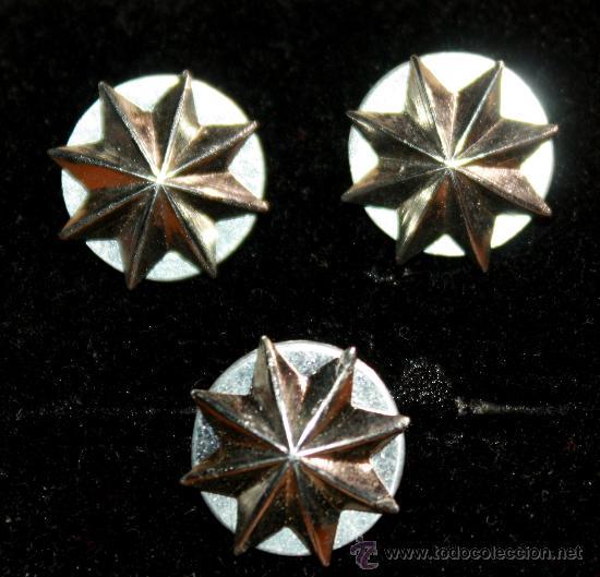 Estrellas De Ocho Puntas Antiguas Tres Comprar Insignias