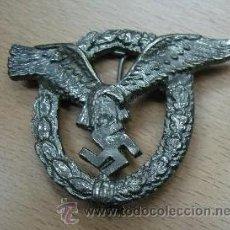 Militaria: DISTINTIVO METALICO DE PILOTO OBSERVADOR ALEMÁN. SEGUNDA GUERRA MUNDIAL. III REICH.. Lote 86217056