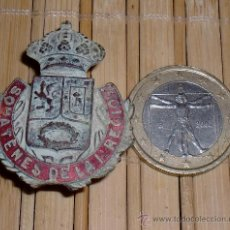Militaria: CHAPA DE SOMATENES DE TRINCHERA GUERRA CIVIL. Lote 30421153