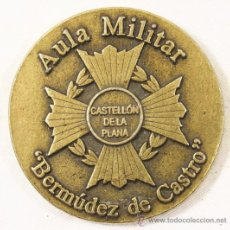 Militaria: PEANA AULA MILITAR ÁLVAREZ DE CASTRO DE CASTELLÓN DE LA PLANA. Lote 30582031