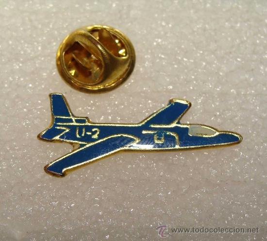 PIN MILITAR / AVIONES. U-2 AVIÓN DE COMBATE AMERICANO. USAF. US AIR FORCE. (Militar - Insignias Militares Extranjeras y Pins)