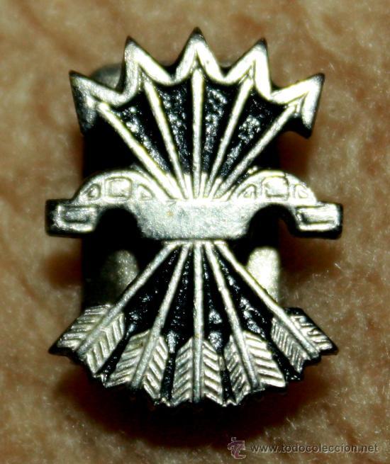 INSIGNIA DE SOLAPA DE FALANJE (Militar - Insignias Militares Españolas y Pins)